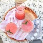 Watermelon Frozen Rosé Frosé Summer Cocktail