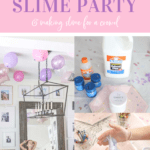 slime party idea