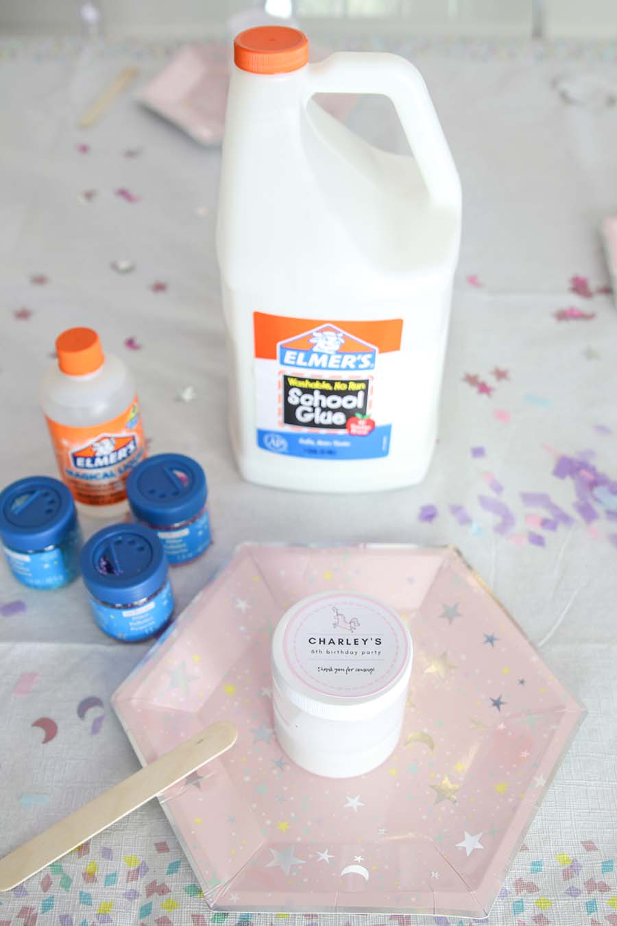 Slime Party - How To throw an easy no-mess party