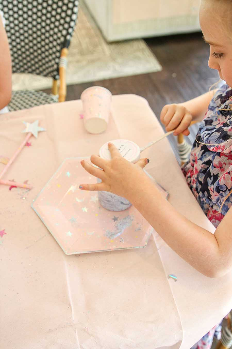 Slime Party - How to Throw a No-Mess and easy Party for Making Slime