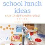 packed school lunch ideas