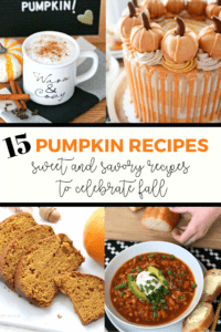 15 pumpkin recipes