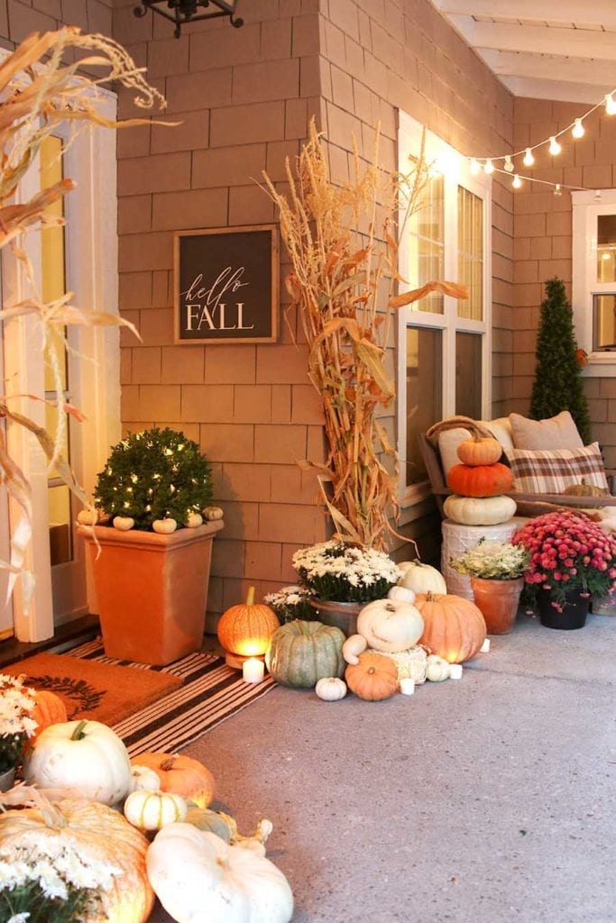 Decorate Porch Fall 12 Ideas