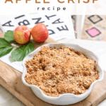old fashioned apple crisp