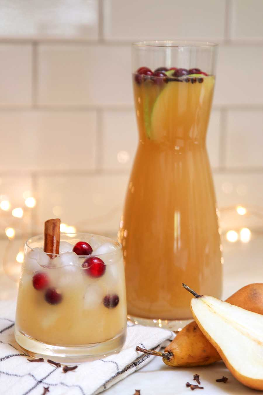 spicy pear punch