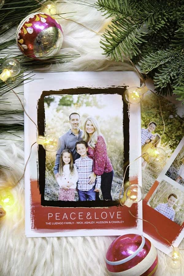 How To take better christmas card photos