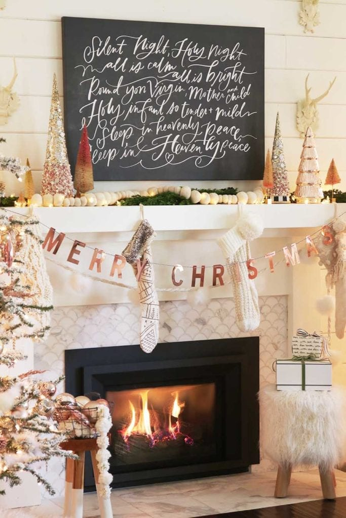 12 months of mantel decorating ideas