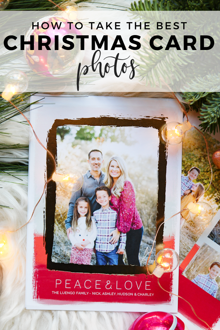how to take the best family christmas card photos