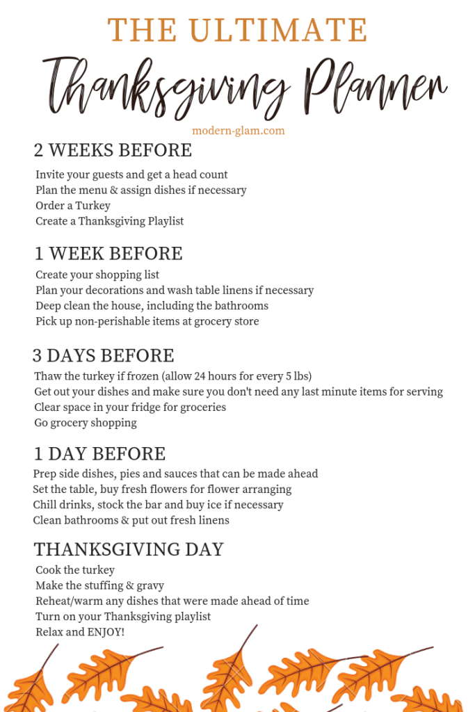 How To Host The Best Thanksgiving Dinner