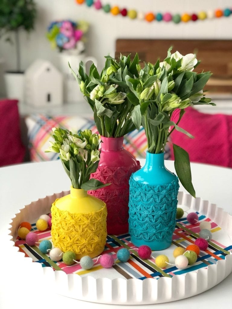 spring vase diy