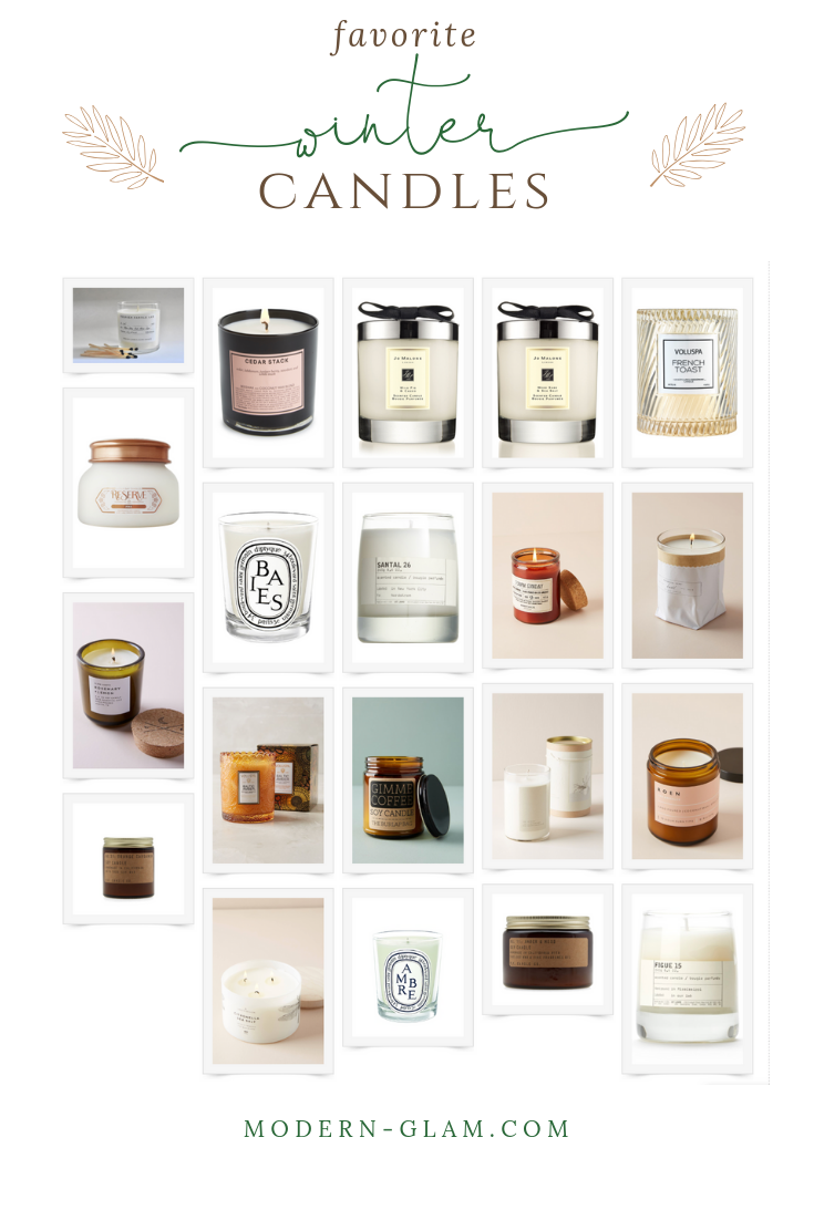 favorite winter candles