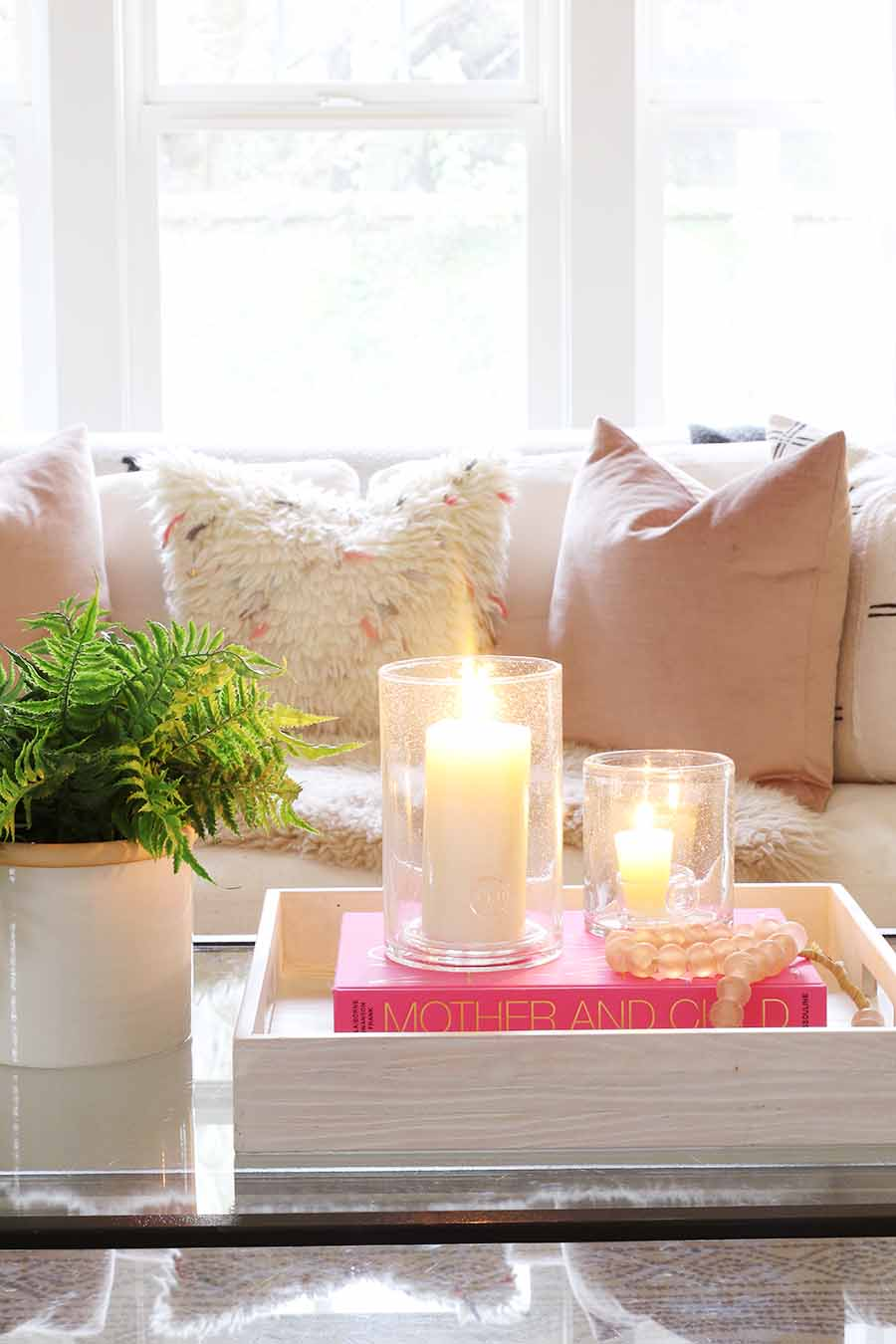 create a cozy home for winter. hygge home.