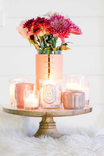 decorate with cake stands