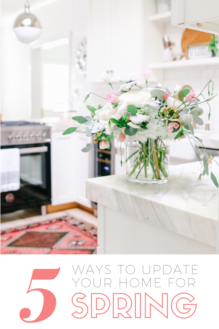 way to update your home for spring