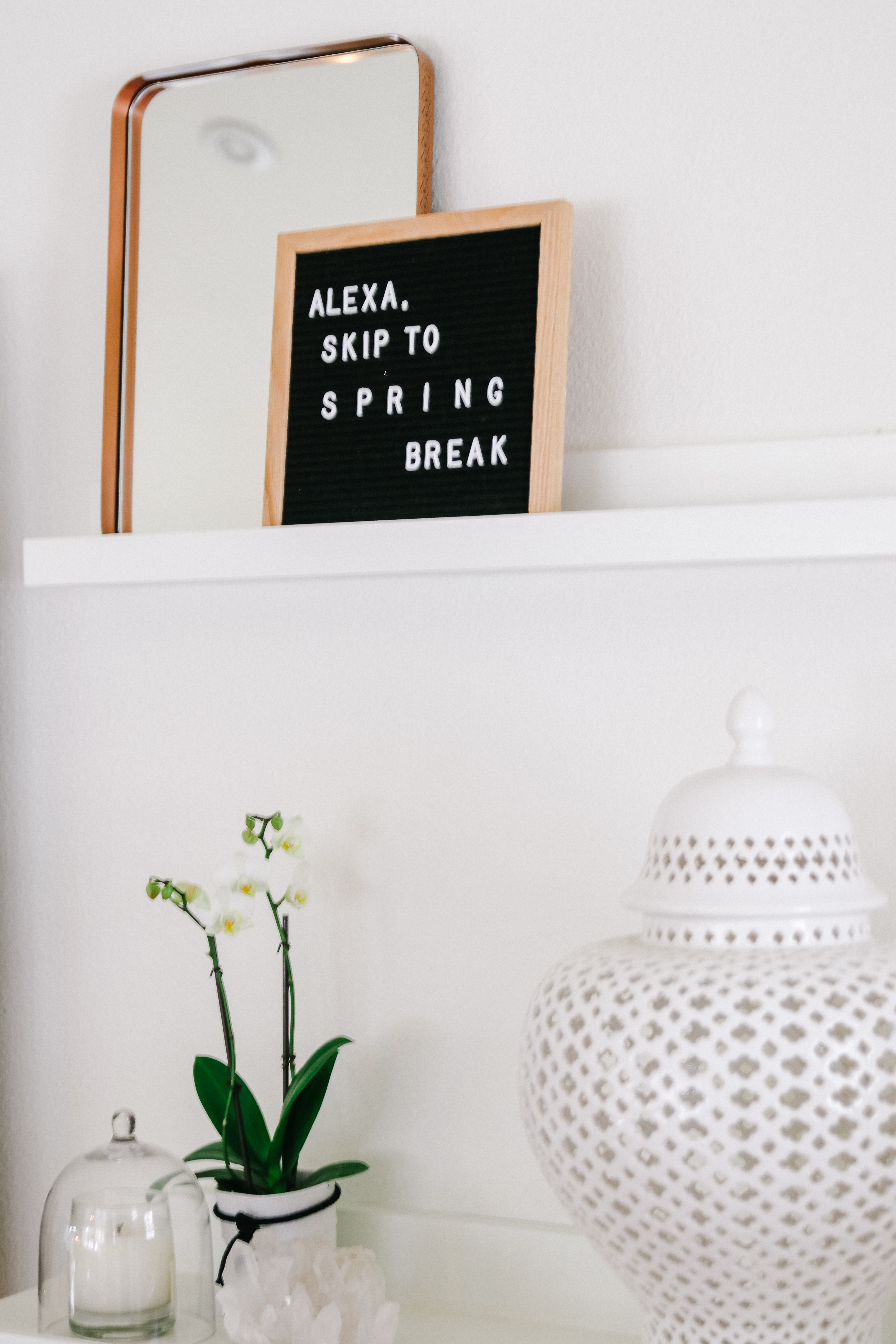 letterboard quote for spring