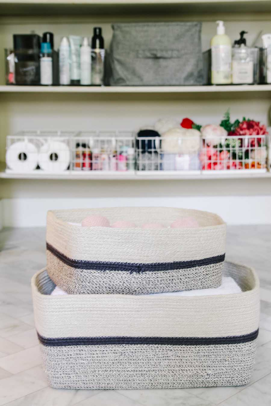 bathroom organizing ideas