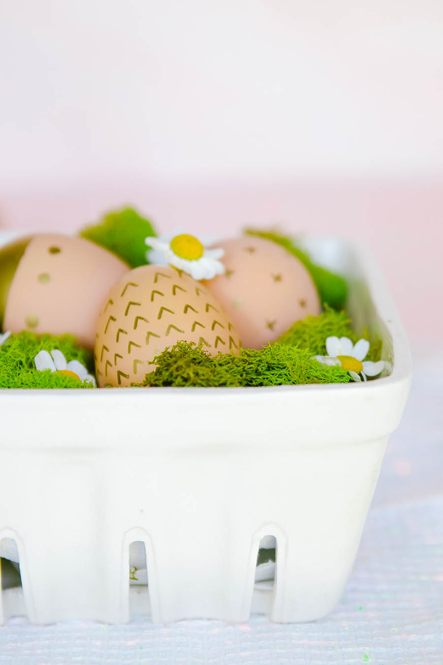 brown easter egg craft