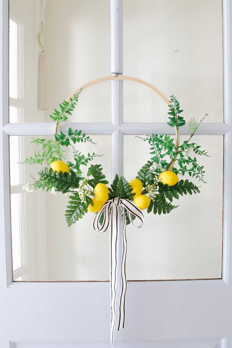 summer wreath diy ideas