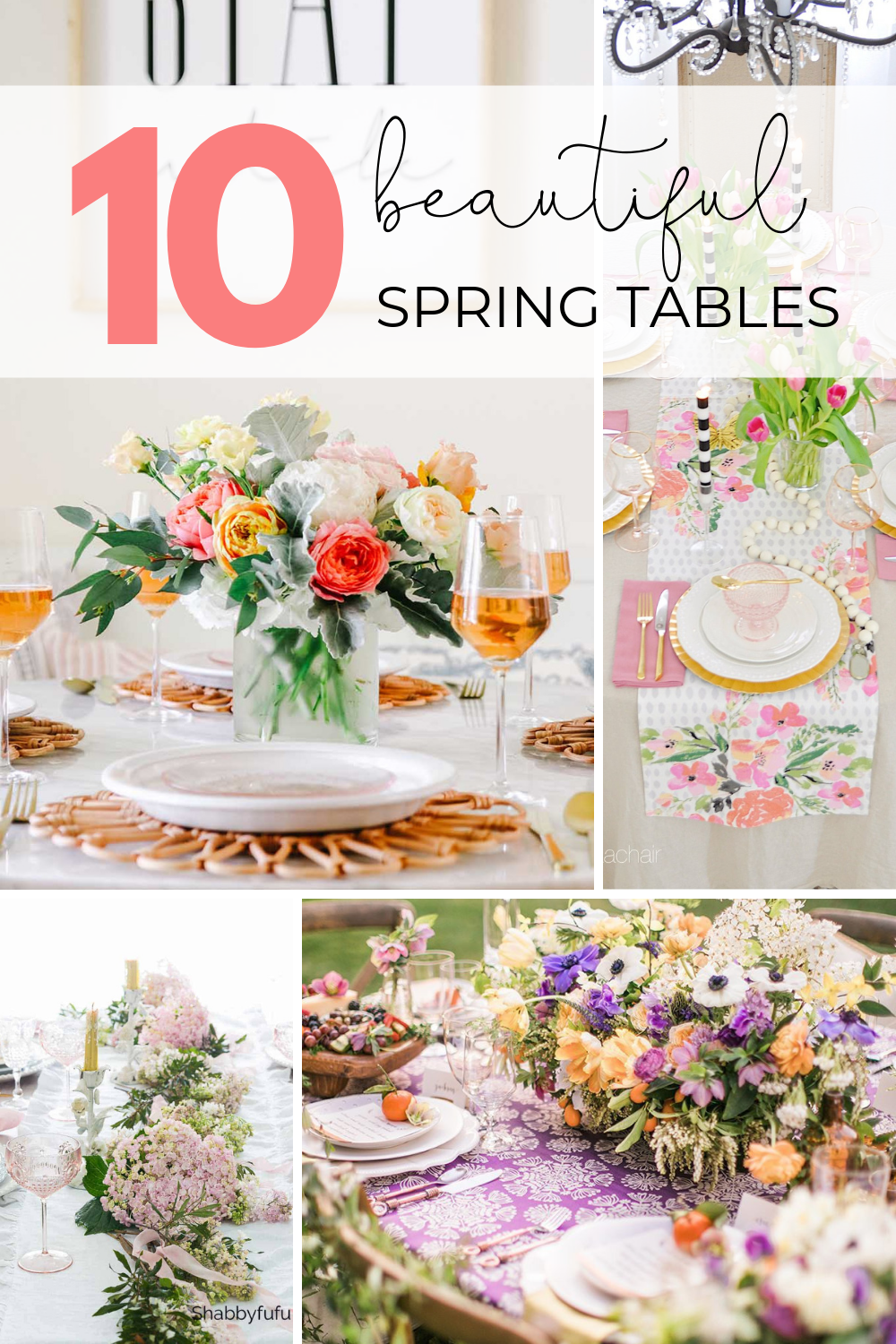 10 beautiful spring tables