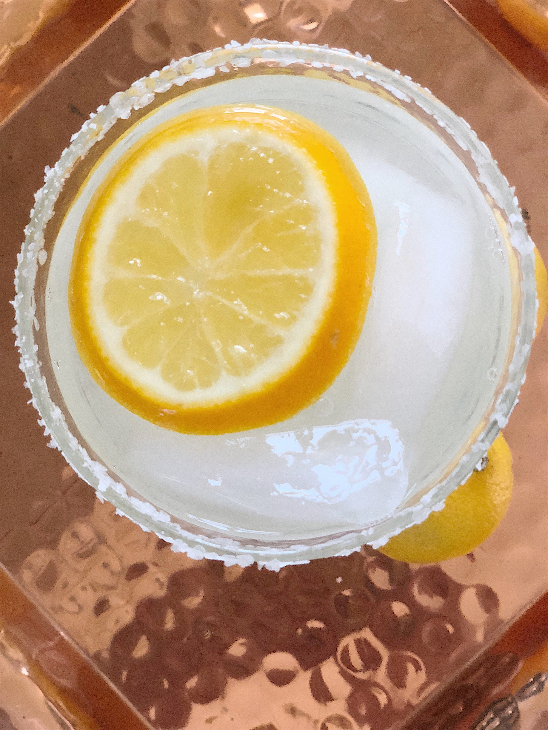 meyer lemon spring drink recipe
