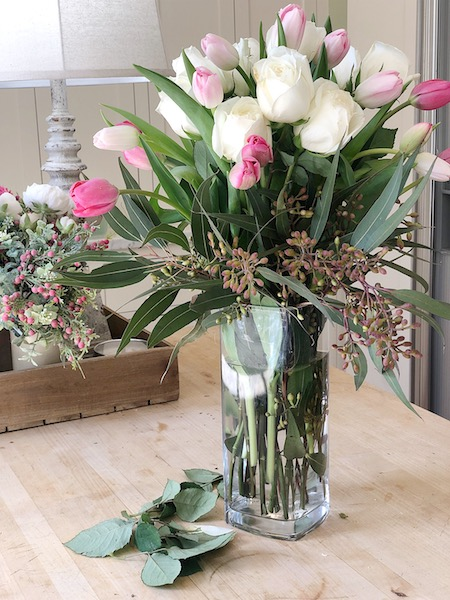 Grocery Store Flower Arrangement Diy Modern Glam