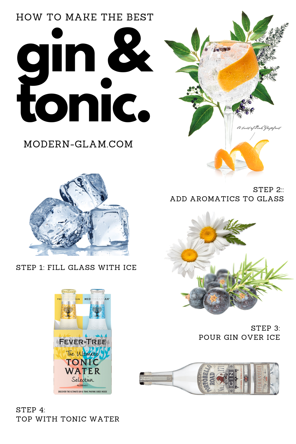 how to make the best gin and tonics