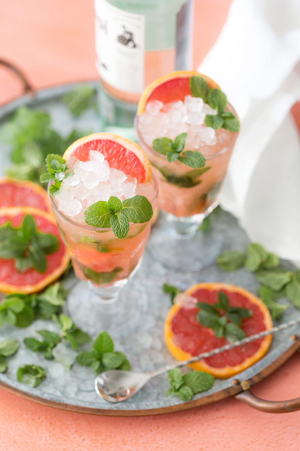 grapefruit mojito drink recipe