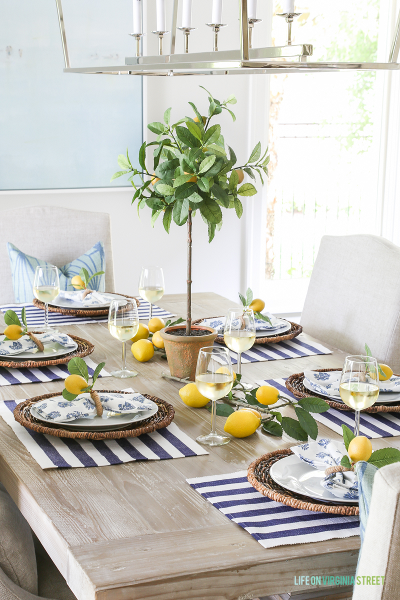 10 spring table setting ideas