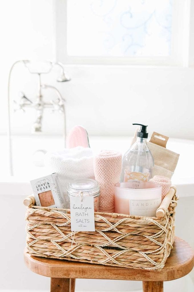 mothers day gift basket idea