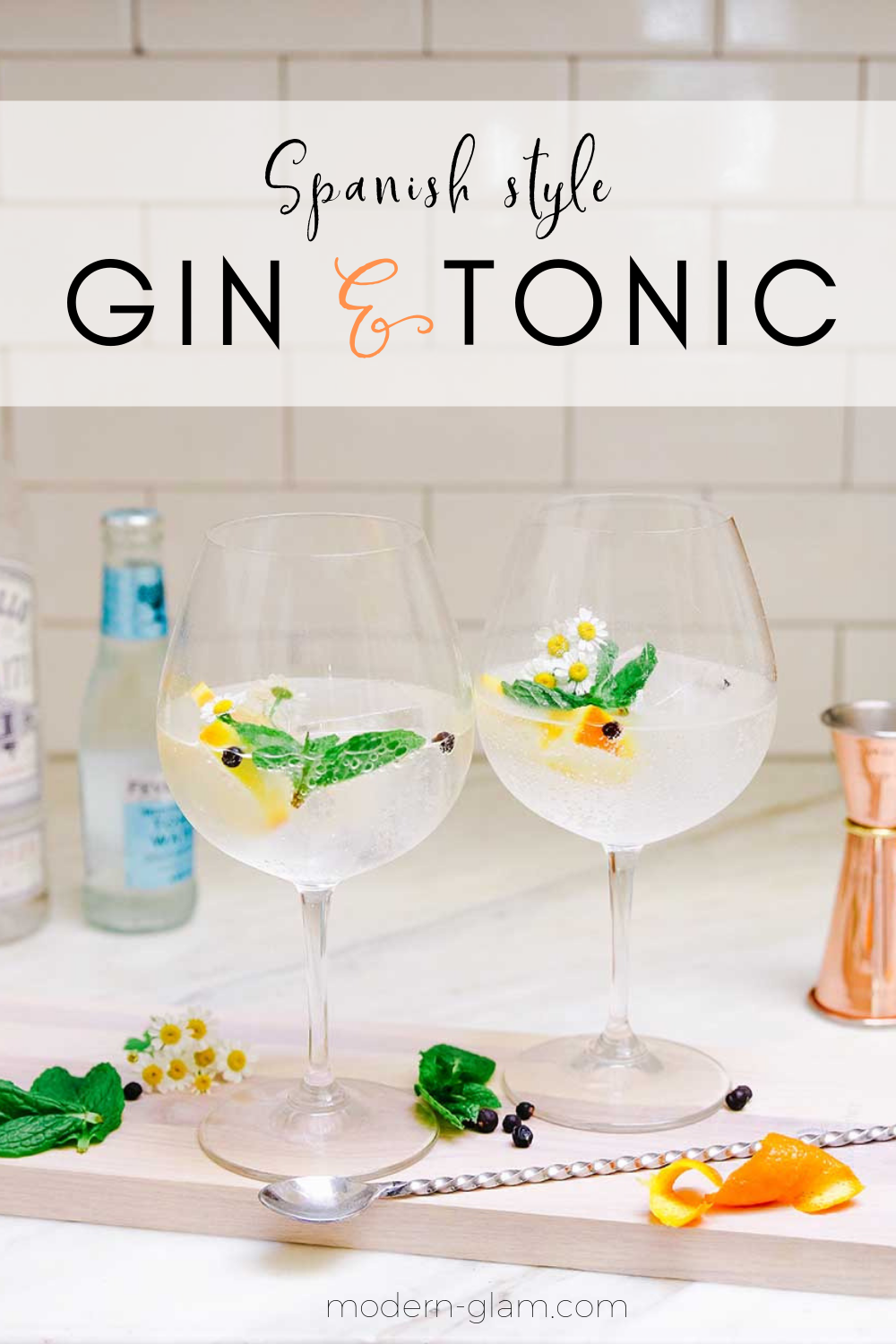 spanish style gin and tonic recipe