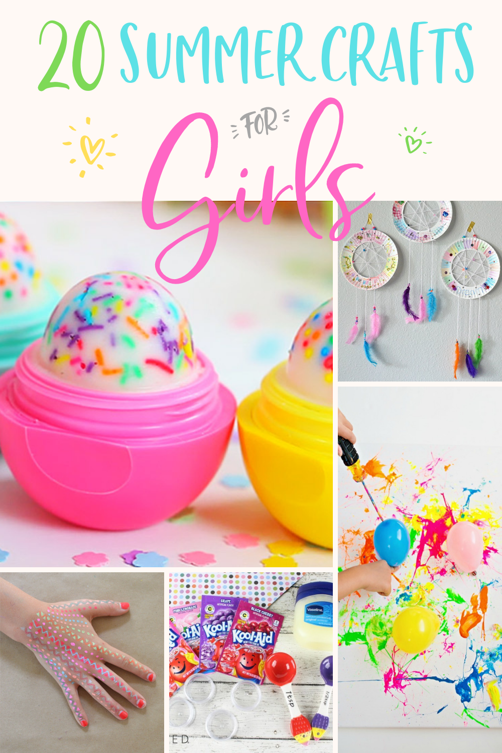 20 summer craft ideas for girls