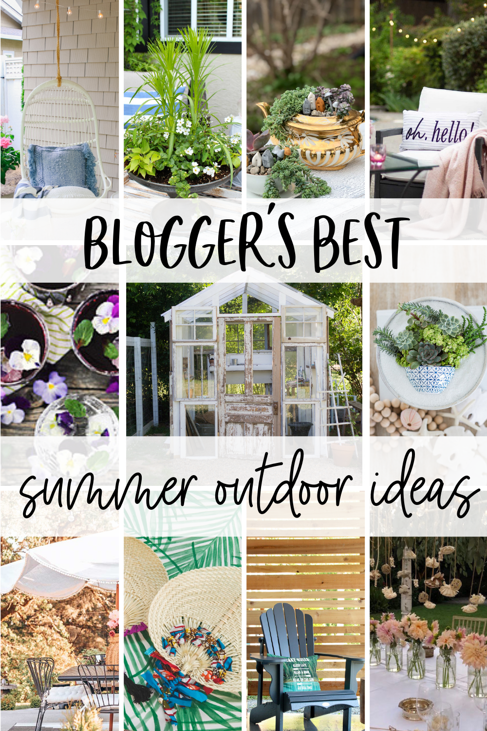 bloggers best summer ideas
