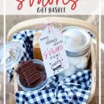 summer s'mores gift basket idea