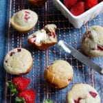 recipe strawberry muffins