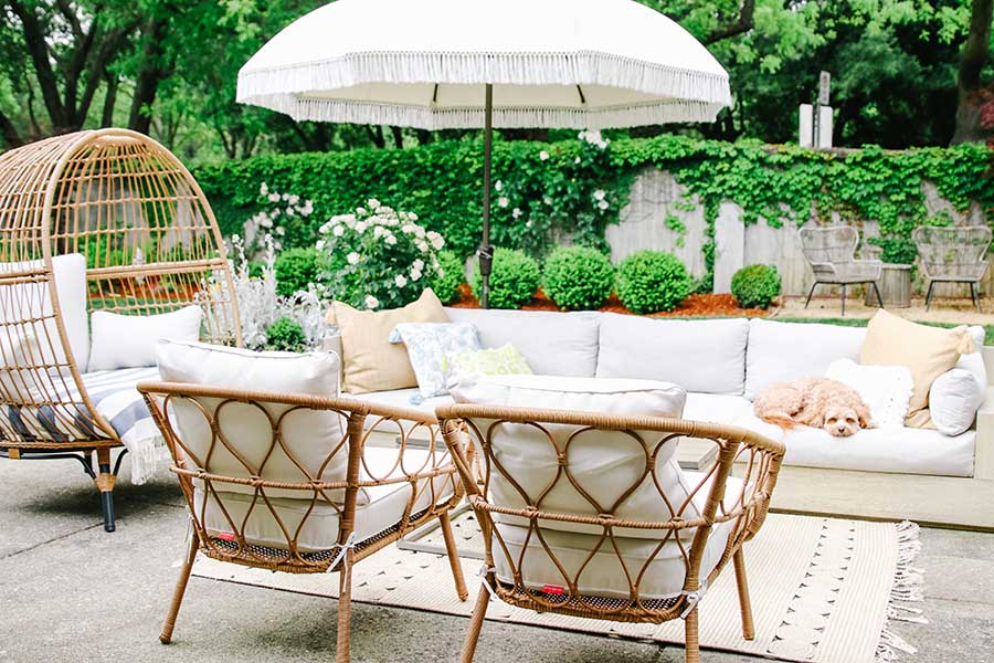 Fabulous Patio Makeover Ideas Update Your Patio For Summer Modern Unemploymentrelief Wooden Chair Designs For Living Room Unemploymentrelieforg