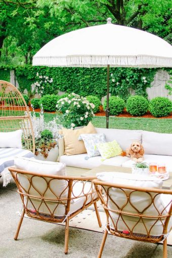 outdoor decorating ideas for summer