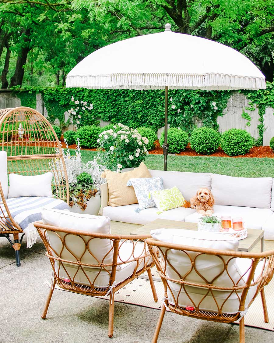 Patio Makeover Ideas Update Your Patio For Summer Modern Glam