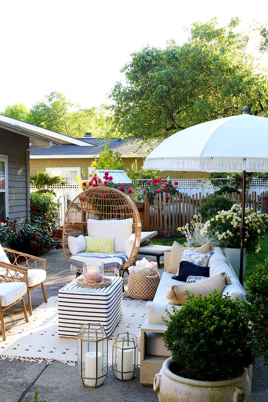 Backyard Party Ideas And Recipes Modern Glam