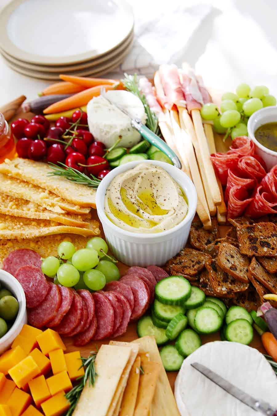 what to put together a cheese and meat platter