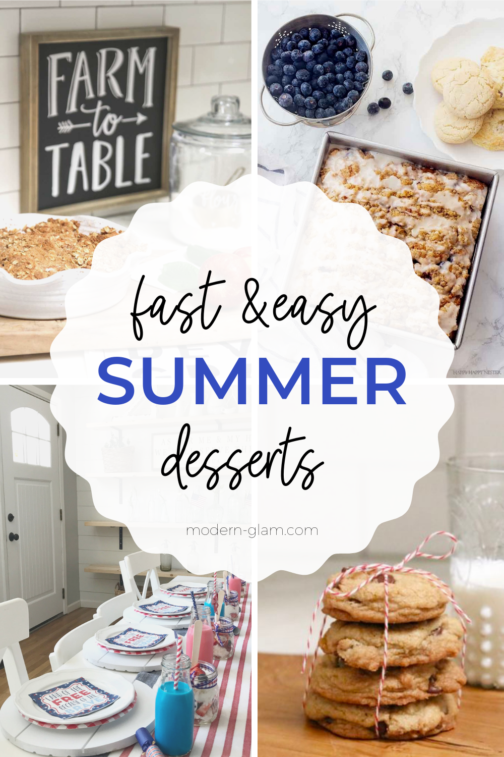 fast and easy summer dessert recipes