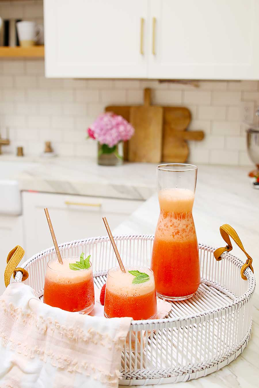 frozen wine slushy