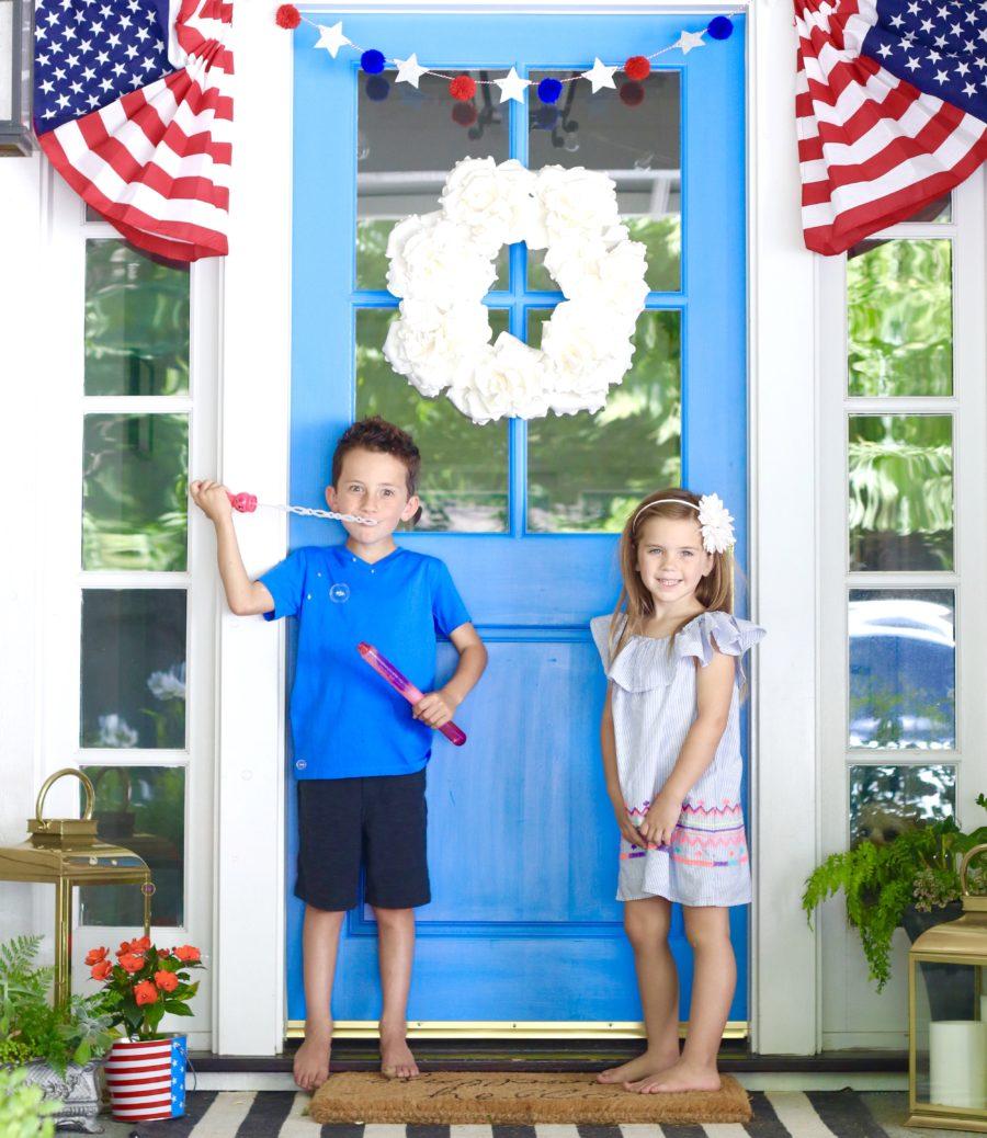 patriotic front porch decor ideas