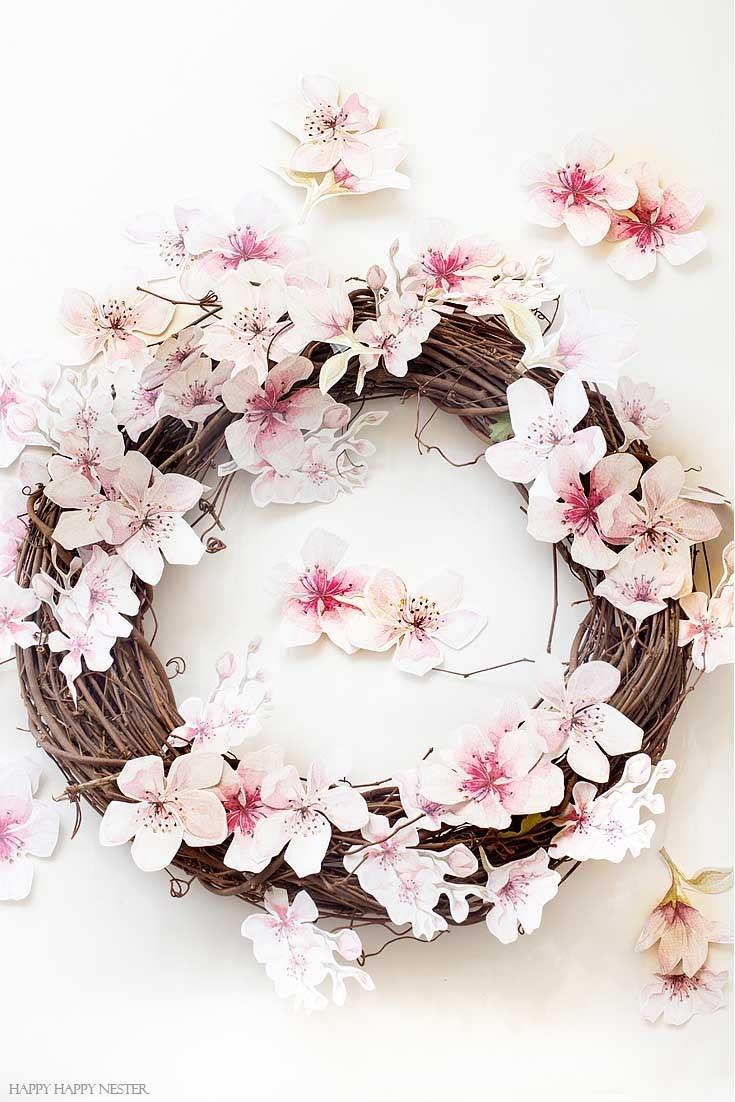 Diy Summer Wreath Ideas Modern Glam