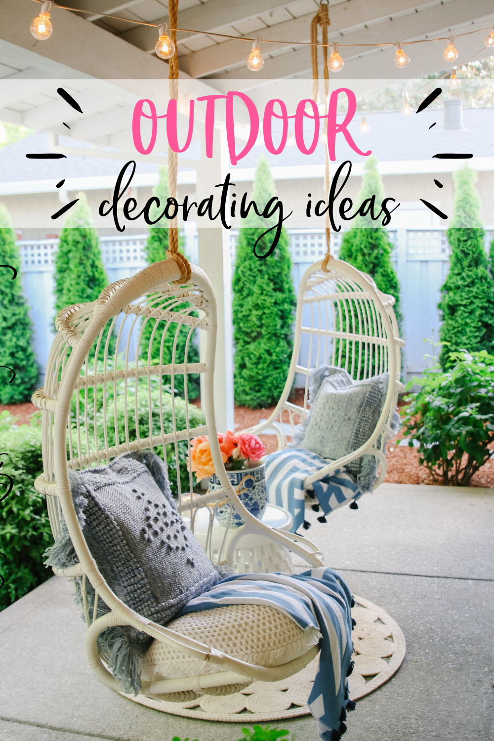 Outdoor decorating Ideas: My Summer Porch and Patio - Modern ...