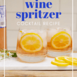rosé wine spritzer cocktail recipe