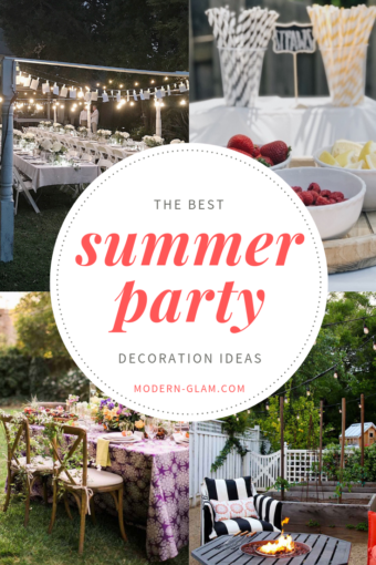 summer party decoration ideas