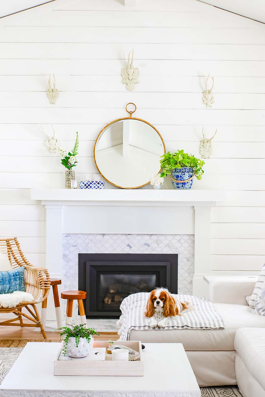 summer decorating ideas mantel decor