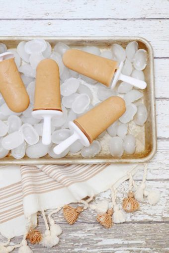 dairy free coffee popsicle