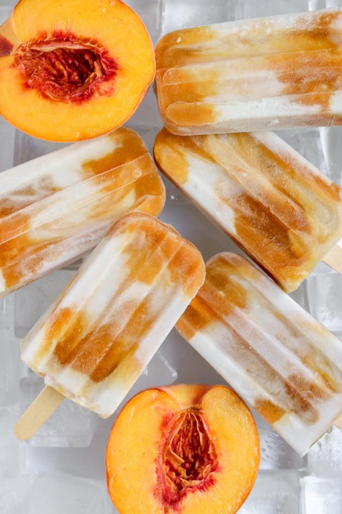 paleo peach creamsicle