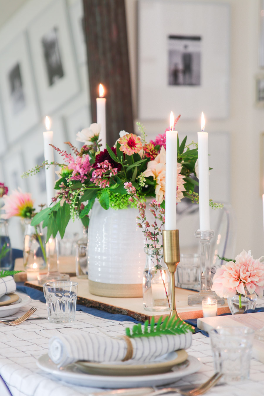 summer centerpiece ideas with flowers